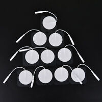 10Pcs Tens  Round Electrode Pads Electrode Patch For Machine FERZ