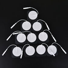 10pcs tens therapy round electrode pads electrode patch for therapy machine4cmSC