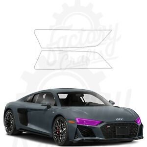 Paint Protection Film Clear PPF for Audi R8 Coupe 2020-2021 Front Headlights
