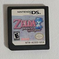 The Legend of Zelda: Phantom Hourglass (Nintendo DS, 2007) Authentic Cart Only