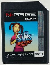 Sims : Bustin' Out  (Nokia N-Gage, 2004) SD Game Card Only