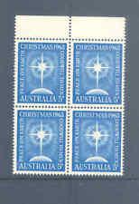 AUSTRALIA PREDECIMAL 1963 CHRISTMAS VERY FINE MNH........1