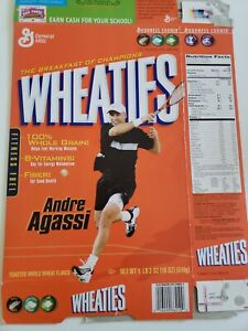 Andre Agassi Commemorative Wheaties Box