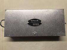 Vtg Umco Aluminum Fishing 2 Sided Tackle Box Model 10If 2, Full Of Fly lures