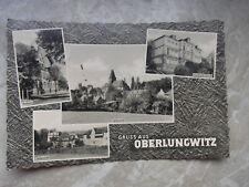AK Gruss aus Oberlungwitz, 4 Ansichten, gelaufen