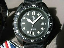 Submaster MILITARY DIVERS watch 300M PROFESSIONAL DATE BLACK PVD VINTAGE