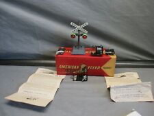 American Flyer S Scale 600 Crossing, 706 Flasher & 670 Track Trip