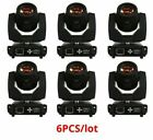 Touch Screen Beam Moving Head Light 6 Pcs/Lot DMX Stage Lighting Decoration Tool