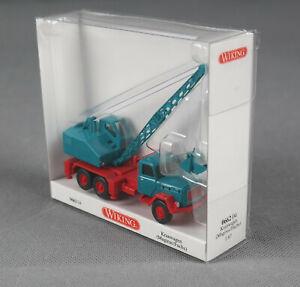 WIKING 066204/0662 04 (H0, 1:87) Camion Grue / Excavatrice (Magirus / fuchs ),