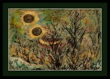 Wandbild-Im Louvre Paris Thea Schleusner 1879-1964-Sonnenfinsternis über Berlinx