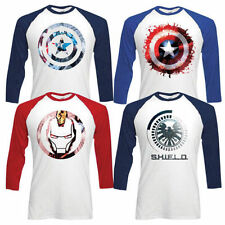 Marvel Crew Neck Loose Fit T-Shirts for Men