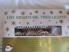 100 Miniature Multi-Color Lights Set - New