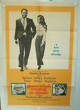 GUESS WHO'S COMING TO DINNER? • VG/F One Sheet • 1967 • Tracy Poitier • ORIGINAL