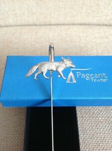 Fox Silver Pewter Bookmark With Gift Box - Perfect Gift Idea