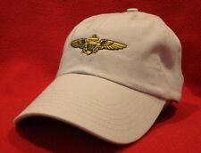 low-profile hat Continental Airlines Captain/'s Pilot Wings ball cap BLACK