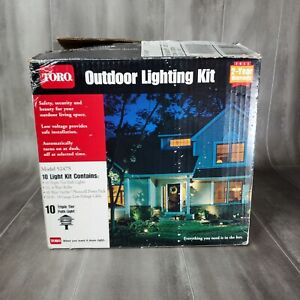 Toro 10 Triple Tier Outdoor Low Voltage Light Pathway Kit Model 52475