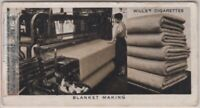 Manufacture of Irish Blankets 1930s Ad Trade Card