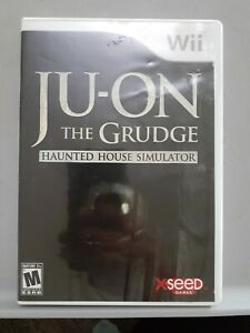Ju-On The Grudge — RARE! Tested! Works Great! (Nintendo Wii 2009) No Manual