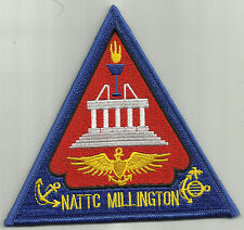 NAVAL AIR TECHNICAL TRAINING CENTER MILLINGTON TN MILITARY PATCH - NATTC MEMPHIS