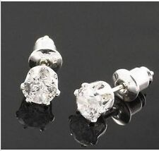 classic small diamond stud style crystal stud earrings