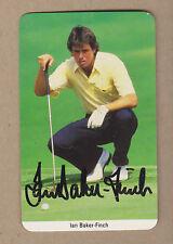Ian Baker-Finch signed 1997 Fax-Pax Rookie golf card