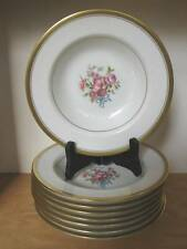 Theodore Haviland Winfield Rimmed Soup Bowls Set of Eight (8)