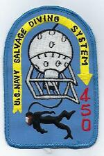 USN Salvage Diring System 450  (US Navy Unit Patch) (from unit 1976)