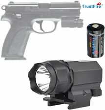 TrustFire P05 210LM Pistol Light  Compact Weapon Tactical Flashlight For Glock