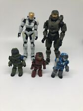 Halo Mcfarlane Misc Action Figures Lot of 5 Loose Master Chief