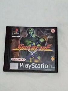 Soul blade psx Ps1 pal