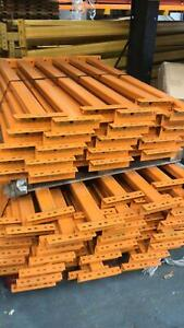 New Link 51 Cross Beams - Closed Box - 1350mm x 70mm x 40mm - 1000kgs Per Level