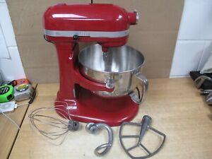 KitchenAid KP26M1XER Red 6 Qt. Professional 600 Series Bowl-Lift Stand Mixer RED