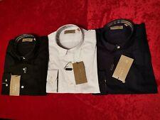 Herren Original Burberry London Hemd Shirt Slim Fit S M L XL XXL