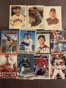 (114) Florida State Seminoles Baseball Cards! Buster Posey- Deion Sanders