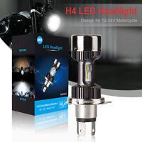 6000K High Low Beam H4 HS1 LED Headlight Car Motorcycle 25W Driving Bulb LD2203