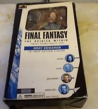 Final Fantasy the spirits within Gray Edwards 12 inch Action figure