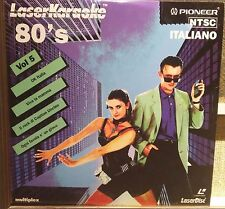 Laser Karaoke Pioneer Italiano 80's Vol. 5 EX Edoardo bennato