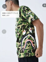 AUTHENTIC APE BAPE x F1 ABC CAMO SIDE SHARK TEE T SHIRT M L XL 2XL 3XL NEW RARE
