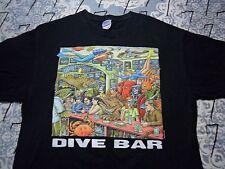 Large- Dive Bar Gildan Brand T- Shirt