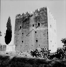 KALOSSI c. 1960 - Château des Croisés - Négatif 6 x 6 - CHYPRE 9