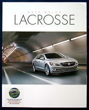 Prospectus brochure 2017 BUICK Lacrosse (USA)