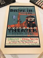 NEW ORLEANS POSTER Print Waiting For Trains Drive In Evitable Theatre ByWater