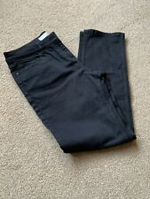 Ladies Black NEXT slim Mid Rise Jeans. Size 16 Long. New Without Tag