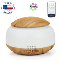 Home LED Humidifier Ultrasonic Essential Oil Diffuser Aromatherapy Purifier USA