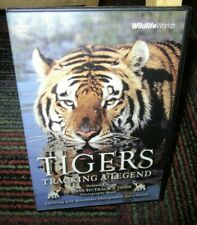 TIGERS: TRACKING A LEGEND DVD, WILDLIFE WORLDS, CAROL AMORE, BENGAL TIGERS, GUC