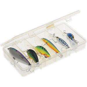 Plano Fishing Lure Organizer Box Storage Tackle Case Bait Compartments Plastic C
