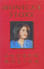 Monica Lewinsky - Monica's Story - Personally Autographed Biography