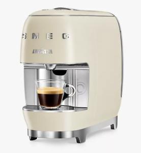 SMEG LAVAZZA A Modo Mio  ESPRESSO CAPSULE Coffee Machine - Cream