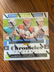 2020 Panini NFL Chronicles Football Sealed Mega Box PACK 5 Cards Walmart Sealed