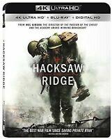 Hacksaw Ridge (4K Ultra HD & Blu-ray, 2 Disc Set) No Digital - Like New